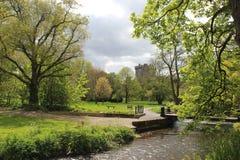 Jardin de château de cajolerie Photos libres de droits