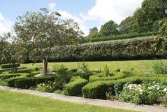 Jardin de château de Herstmonceux photographie stock