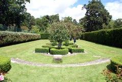 Jardin de château de Herstmonceux, Angleterre photos stock