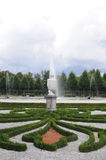 Jardin de château de Schwetzingen photographie stock