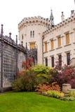 Jardin de château Hluboka image stock