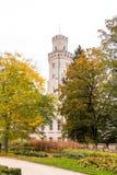 Jardin de château Hluboka photos libres de droits