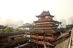 Jardin de CHANGHAÏ CHINE OKT.15.2013 Yuyuan Image libre de droits
