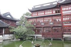 Jardin 3 de Changhaï Yu photographie stock