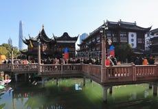 Jardin de Changhaï Yu le festival 2019 de lanterne de calendrier lunaire photo stock