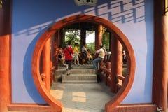 Jardin de chinois traditionnel Photos libres de droits