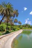 Jardin de Concepcion, La Concepcion de jardin à Malaga (Espagne) Photo stock
