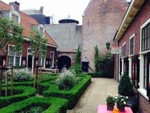 Jardin de cour Image stock