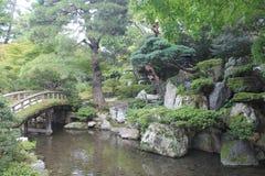 Jardin de détente de japanesse Images stock