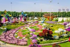 Jardin de Dubaï Miiracle Photos libres de droits