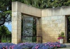 Jardin de famille de configuration chez Dallas Arboretum image libre de droits