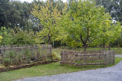 Jardin de ferme Images libres de droits