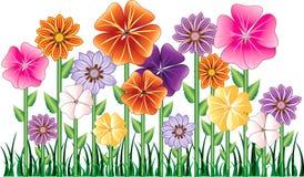 Jardin de fleur illustration libre de droits