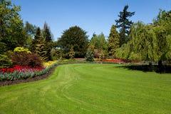 Jardin de fleur Photo stock