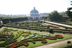 Jardin de fleur, Kromeriz Image stock
