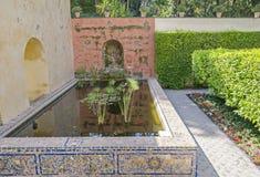 Jardin de fleurs Images libres de droits