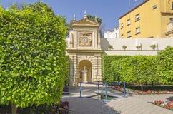 Jardin de fleurs Photos libres de droits