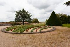 Jardin de forme ronde dans Rochefort Image libre de droits