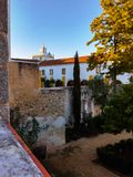 Jardin de Foundation Eugénio de Almeida Photo stock