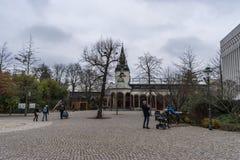 Jardin de Founder's de zoo de Leipzig photographie stock
