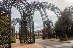 Jardin de gouvernement de Rotorua Photos libres de droits