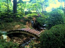 Jardin de Japenese Images stock