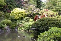 Jardin de Japonais de Kubota Image libre de droits