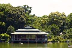Jardin de Kiyosumi de Japonais Photographie stock