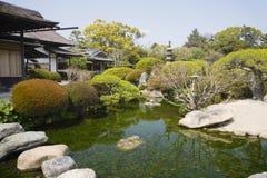 Jardin de Korakuen à Okayama images libres de droits