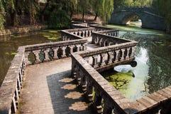 Jardin de l'eau de Changhaï Photographie stock