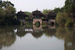 Jardin de l'eau de Changhaï Images stock