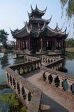 Jardin de l'eau de Changhaï Image libre de droits