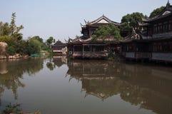 Jardin de l'eau de Changhaï Photographie stock libre de droits