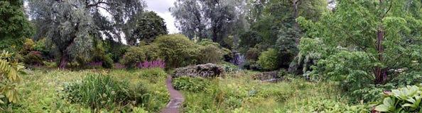 Jardin de l'Himalaya à la Chambre de Harewood, Leeds, West Yorkshire, R-U Image libre de droits