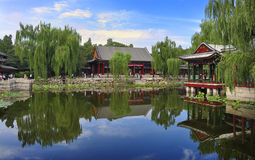 Jardin de la Chine    Image stock