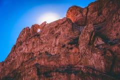 Jardin de la falaise de dieux photos stock