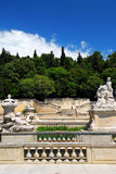 Jardin de la Fontaine in Nimes France Royalty Free Stock Photography