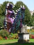 Jardin de la mairie, Bordeaux ( France ) Stock Images