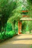 Jardin de lac Photos libres de droits