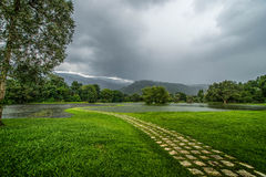 Jardin de lac Taiping photos libres de droits