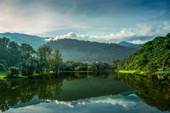 Jardin de lac Taiping Photographie stock