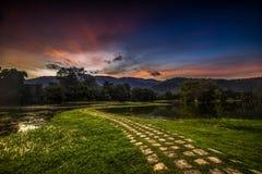 Jardin de lac Taiping Images stock