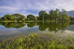 Jardin de lac taiping, Taiping, Malaisie Images stock