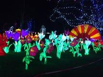 Jardin de lanterne Image libre de droits