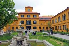 Jardin de Lenbachhaus à Munich photo libre de droits