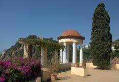 Jardin de Marimurtra, Blanes, Espagne Photographie stock libre de droits