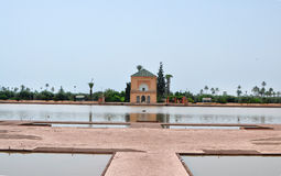 Jardin de Menara Photo stock