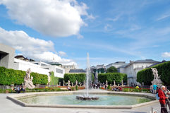 Jardin de Mirabell Photos libres de droits