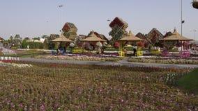 Jardin de miracle - Dubaï Photographie stock