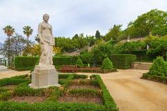 Jardin de Montjuic Images libres de droits
